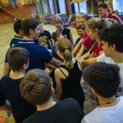 Elkor Sport jauniešu pludmales volejbola skolas atvērto durvju diena 31.01.2015