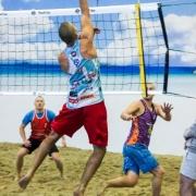 Elkor Sport pludmales volejbola līgas 6.posms 22.12.2013.