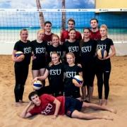 Latvijas Universiāde pludmales volejbolā 07.12.2013.